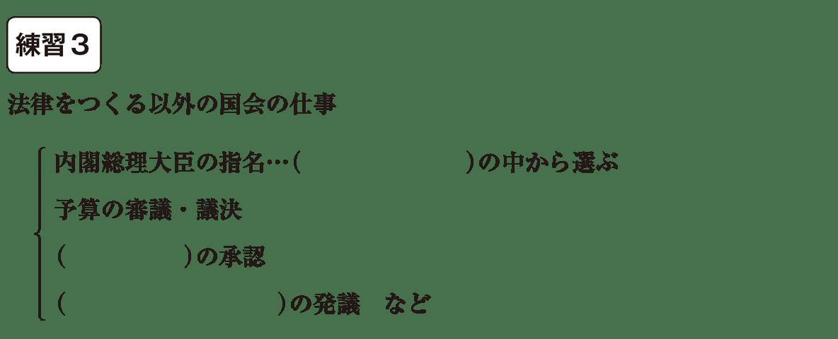 中学公民19 練習3 空欄