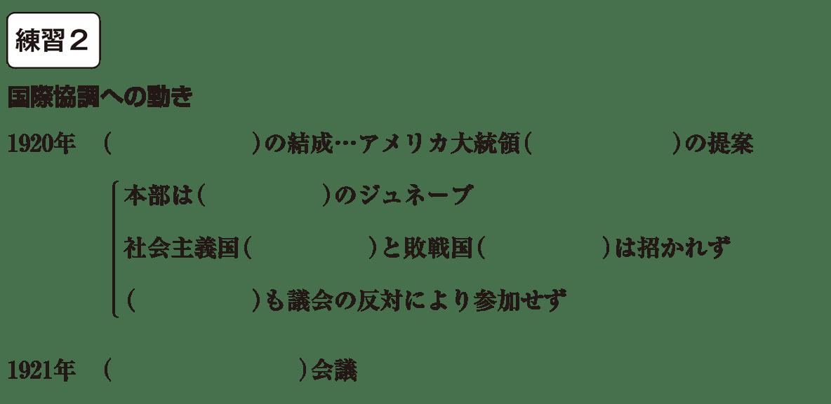中学歴史54 練習2 カッコ空欄