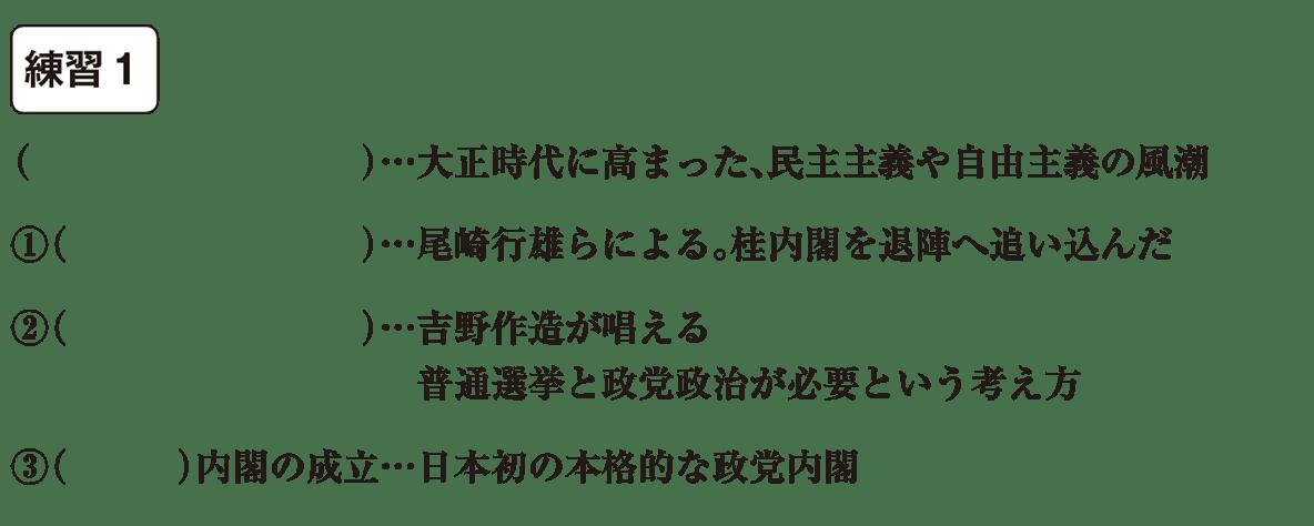 中学歴史55 練習1 カッコ空欄