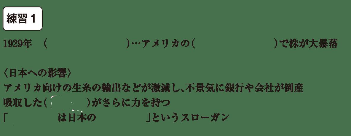 中学歴史57 練習1 カッコ空欄
