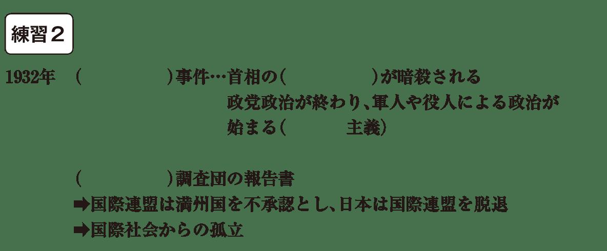 中学歴史58 練習2 カッコ空欄