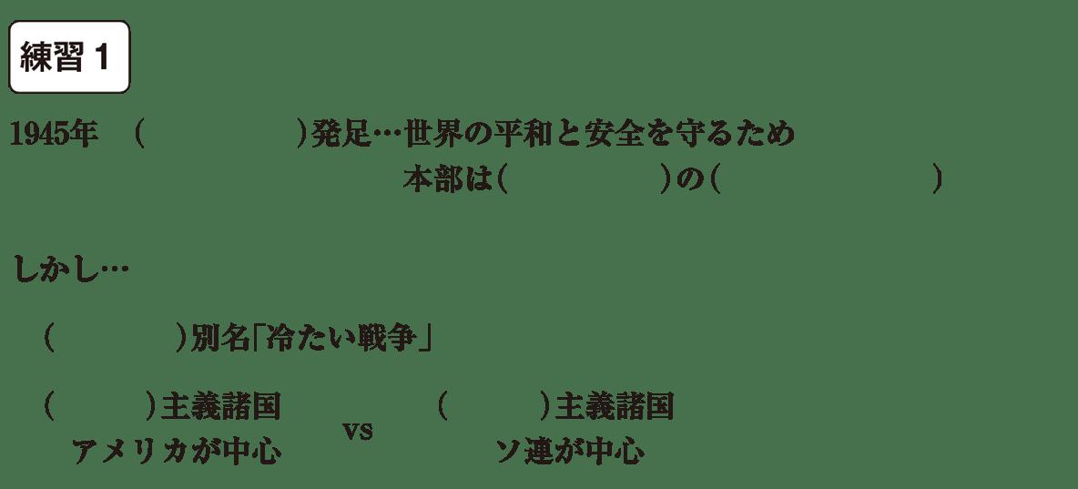 中学歴史63 練習1 カッコ空欄
