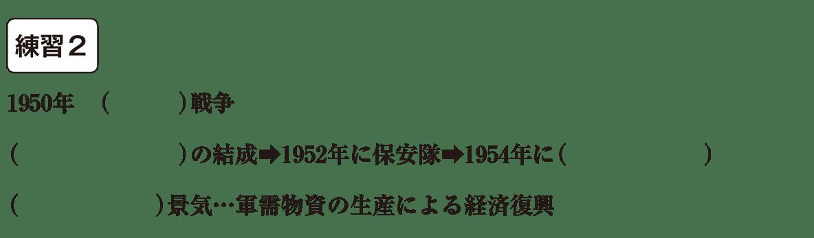 中学歴史64 練習2 カッコ空欄