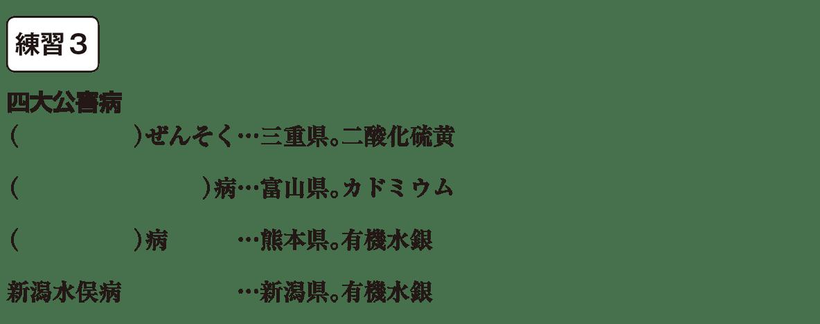 中学歴史66 練習3 カッコ空欄