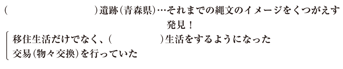 中学歴史4 練習3 5行目以降 カッコ空欄