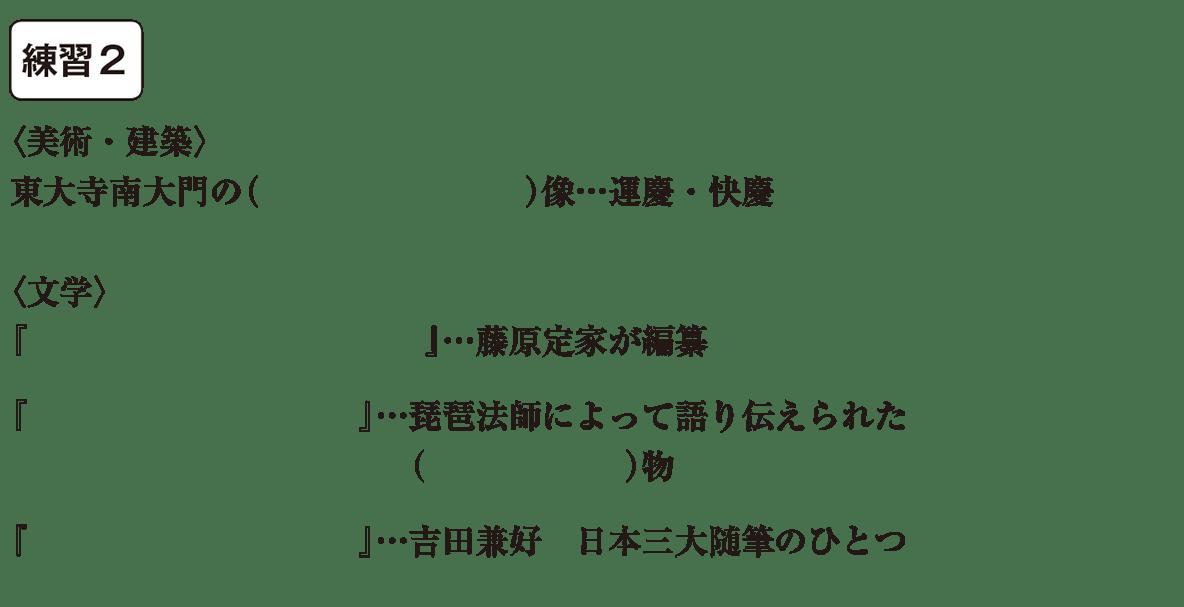 中学歴史17 練習2 カッコ空欄