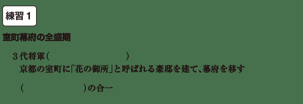 中学歴史20 練習1 カッコ空欄
