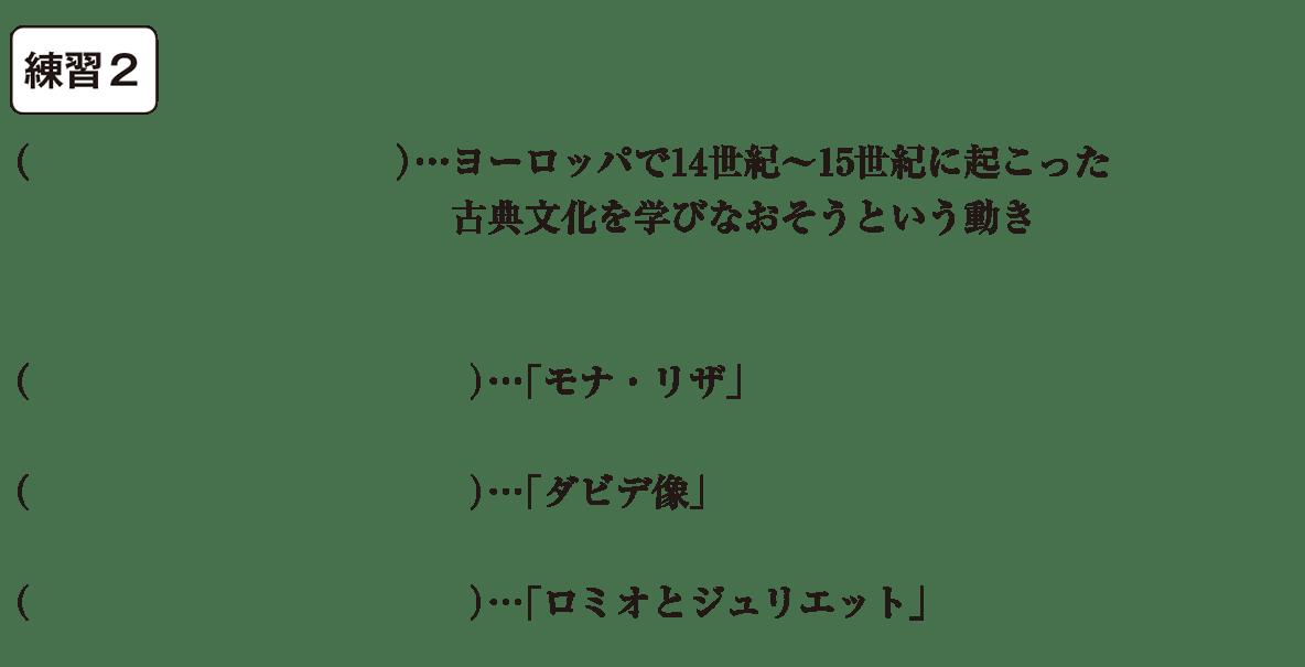 中学歴史24 練習2 カッコ空欄
