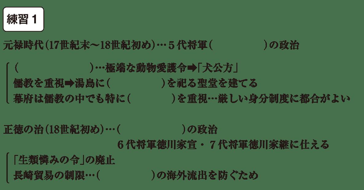 中学歴史32 練習1 カッコ空欄