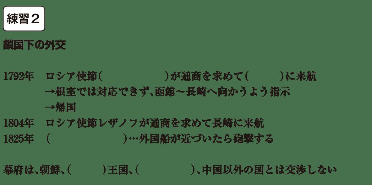 中学歴史36 練習2 カッコ空欄