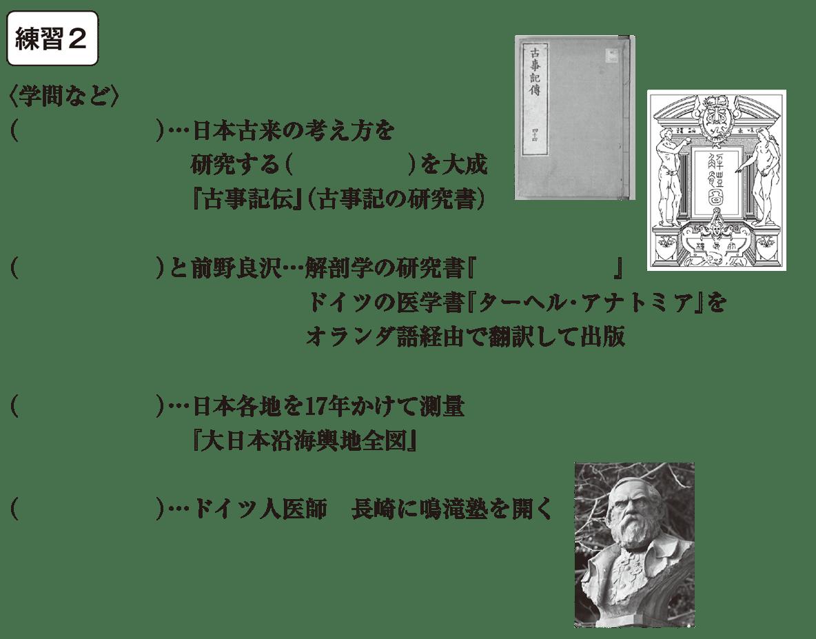 中学歴史37 練習2 カッコ空欄