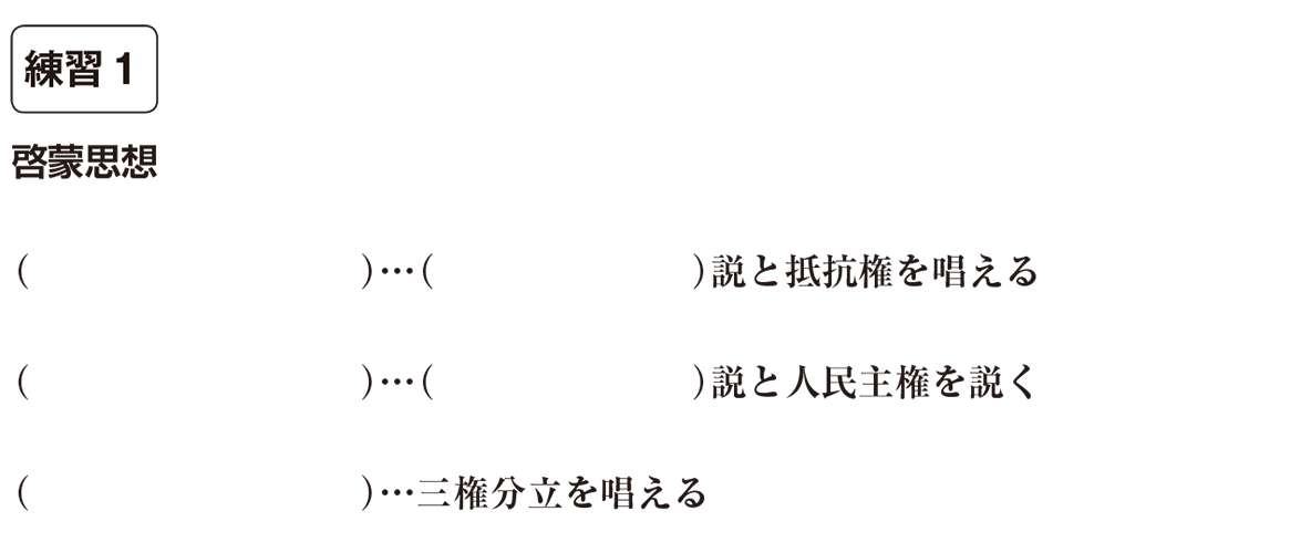中学歴史38 練習1 カッコ空欄