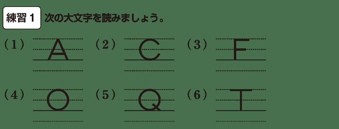 中1 英語1 練習1