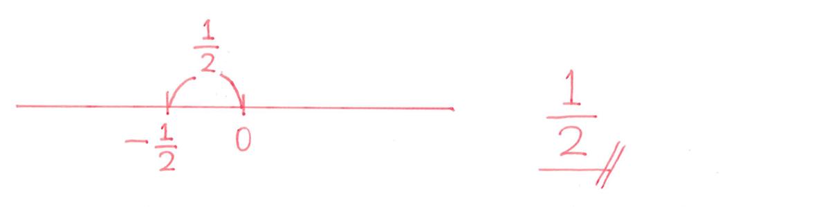 中1 数学6 練習(2)の答え