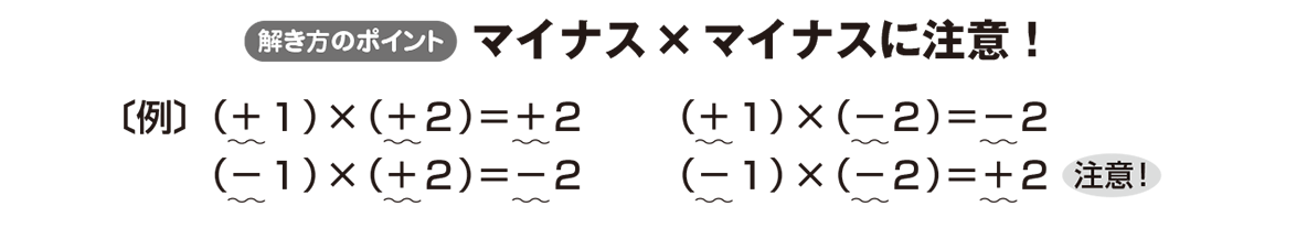 中1 数学11 ポイント