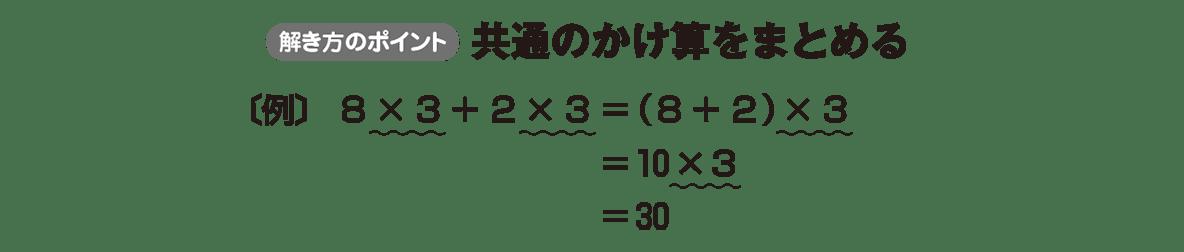 中1 数学17 ポイント
