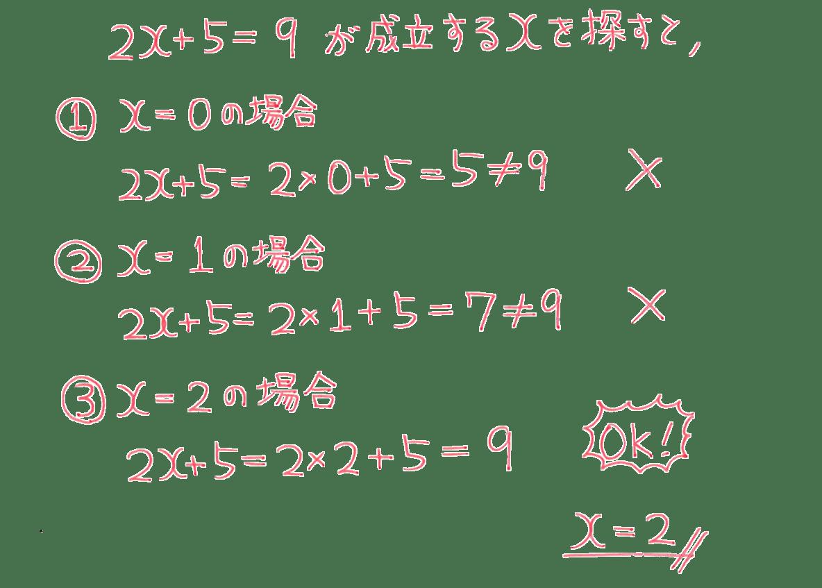 中1 数学34 練習の答え