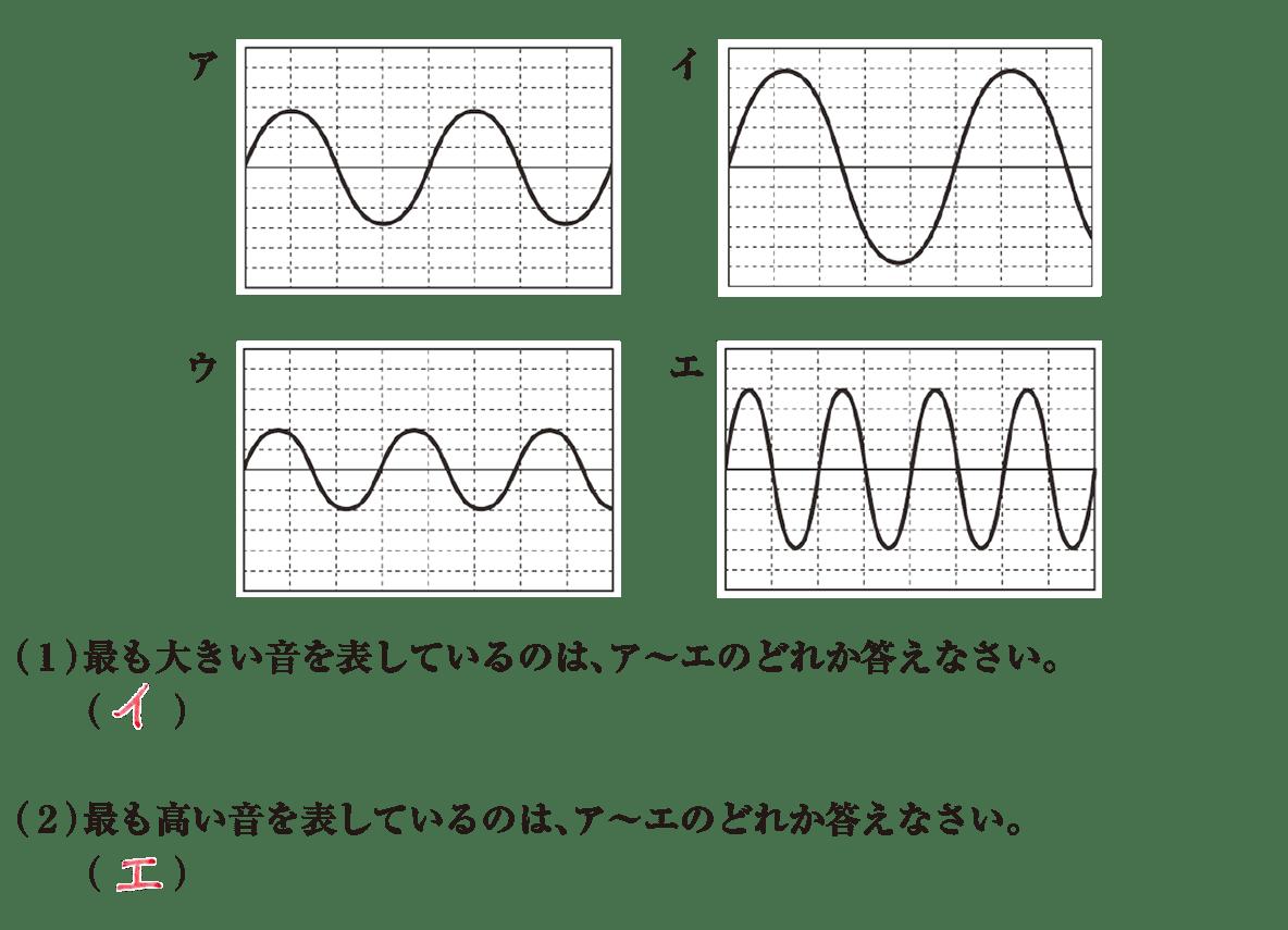 中1 理科物理9 練習1 答え入り