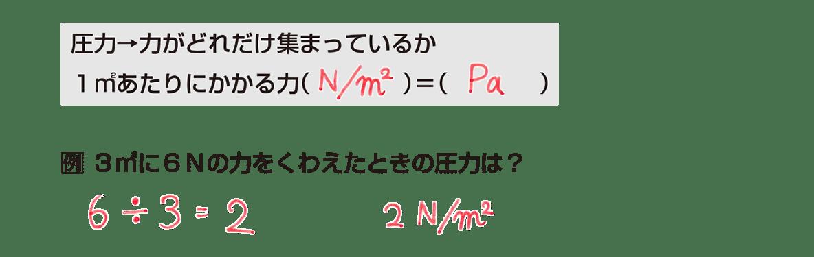 中1 理科物理15 ポイント1 答え全部