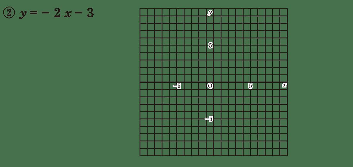 中2 数学108 練習②