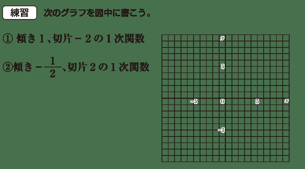 中2 数学110 練習