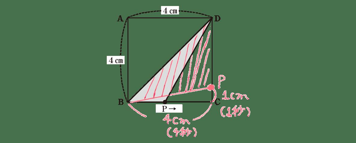 中2 数学120 練習(1) 書き込み入りの上図