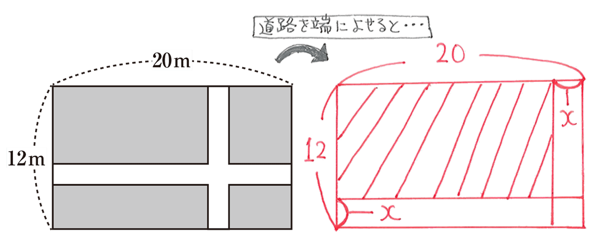 中3 数学205 練習 2つの図のみ