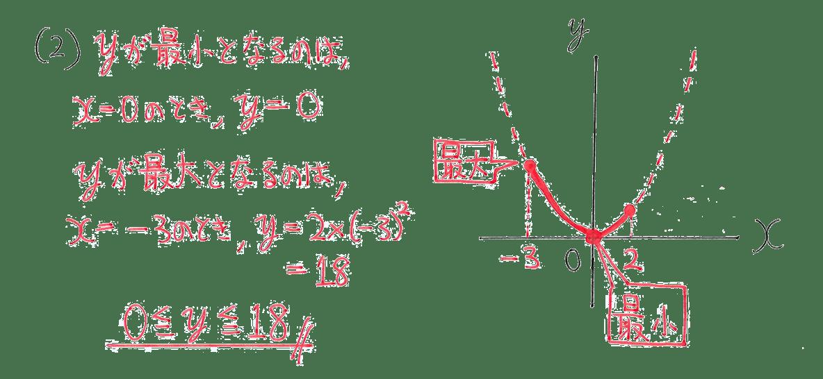 中3 数学213 例題(2)の答え