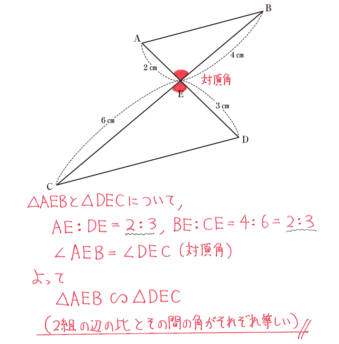 中3 数学222 練習の答え