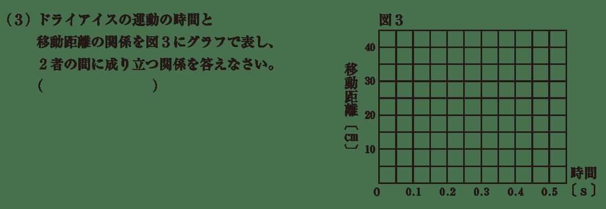 中3 物理5 練習1(3) 答えなし