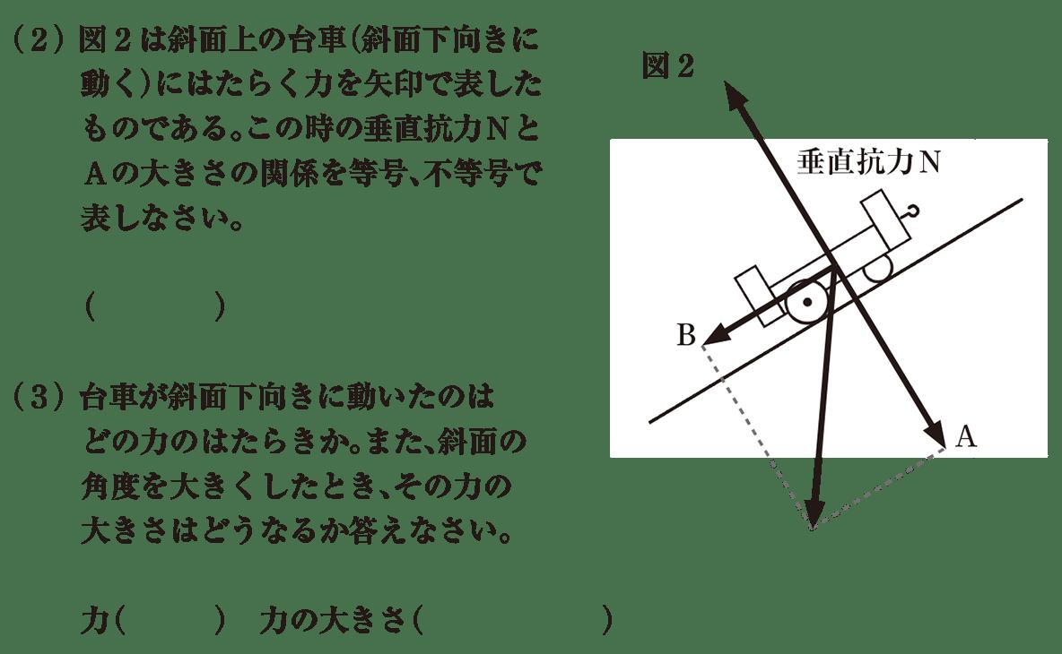 中3 物理8 練習 (2)(3)答えなし