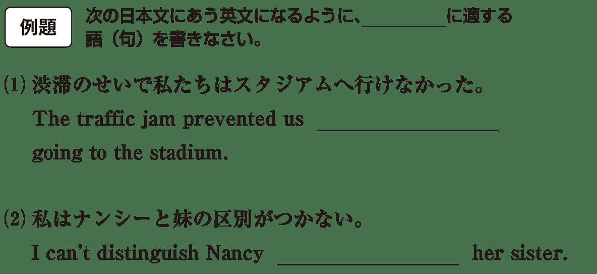 高校英語文法 動詞29・30の例題(1)(2) アイコンあり