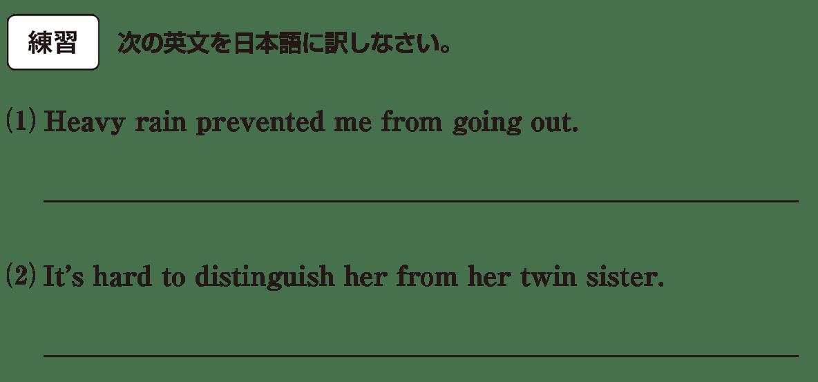 高校英語文法 動詞29・30の練習(1)(2) アイコンあり