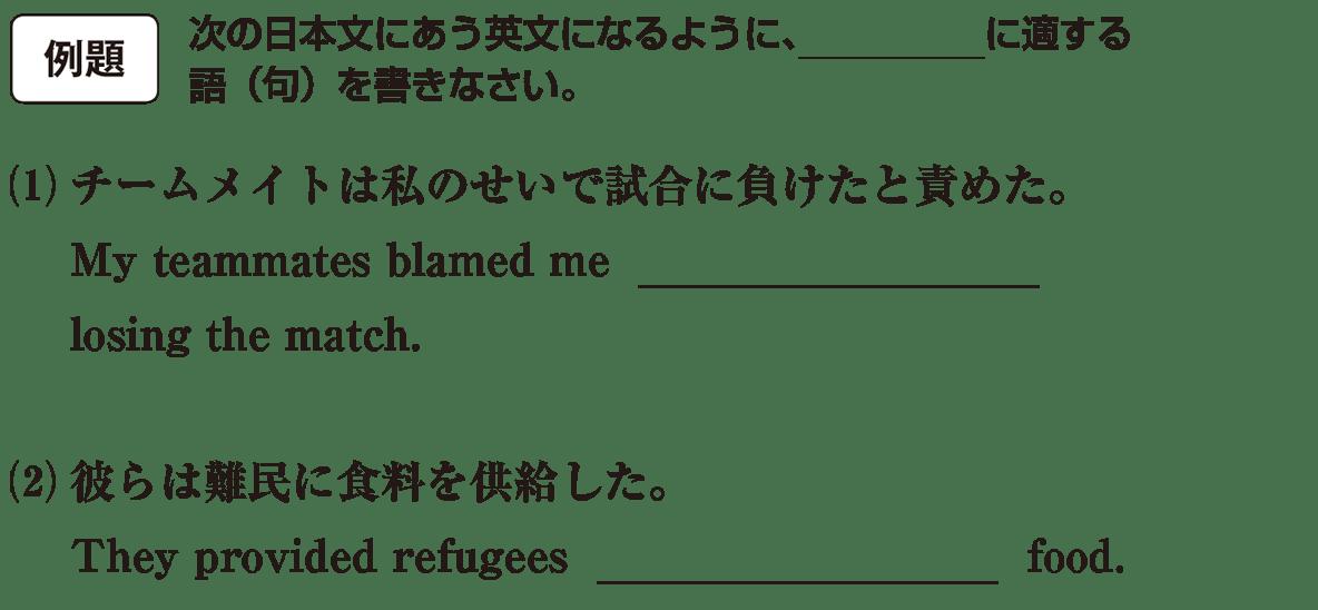 高校英語文法 動詞33・34の例題(1)(2) アイコンあり