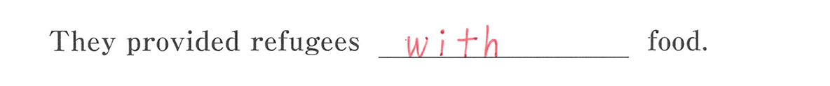 高校英語文法 動詞33・34の例題(2) 答え入り アイコンなし