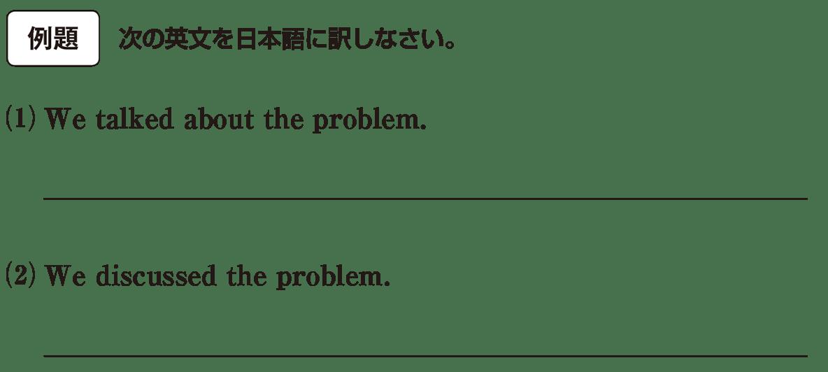 高校英語文法 動詞1・2の例題(1)(2) アイコンあり
