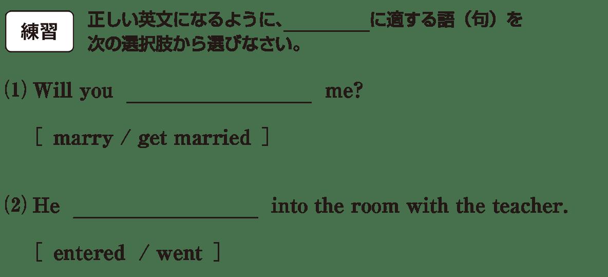 高校英語文法 動詞1・2の練習(1)(2) アイコンあり