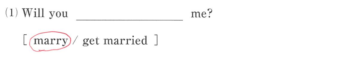 高校英語文法 動詞1・2の練習(1)の答え アイコンなし