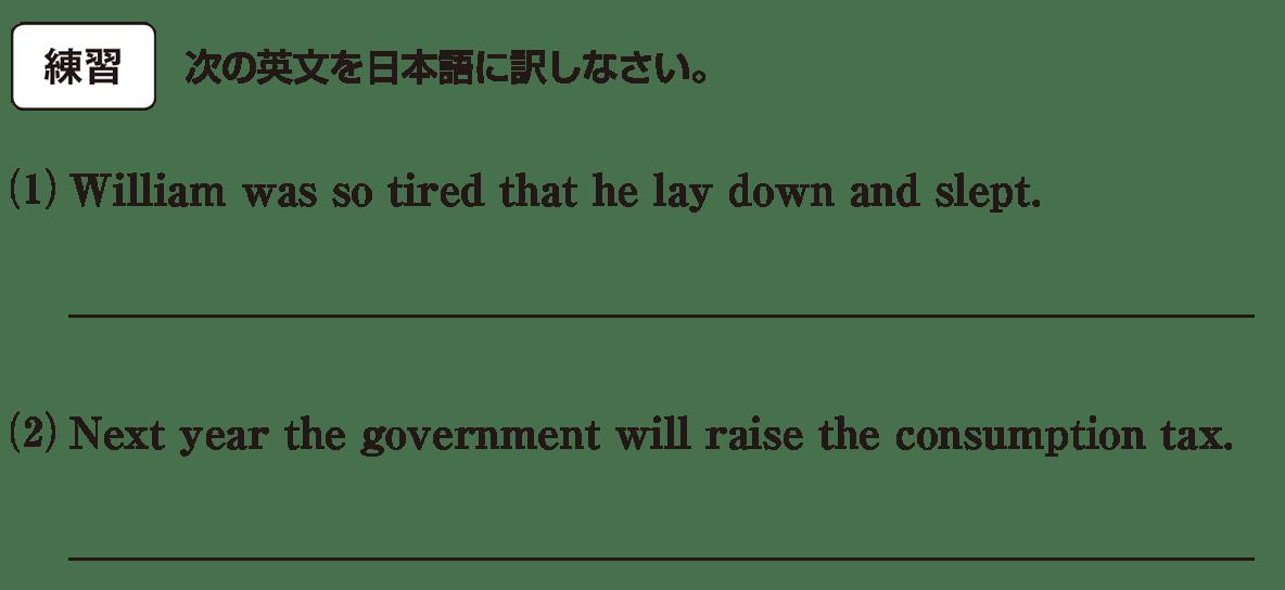 高校英語文法 動詞7・8の練習(1)(2) アイコンあり