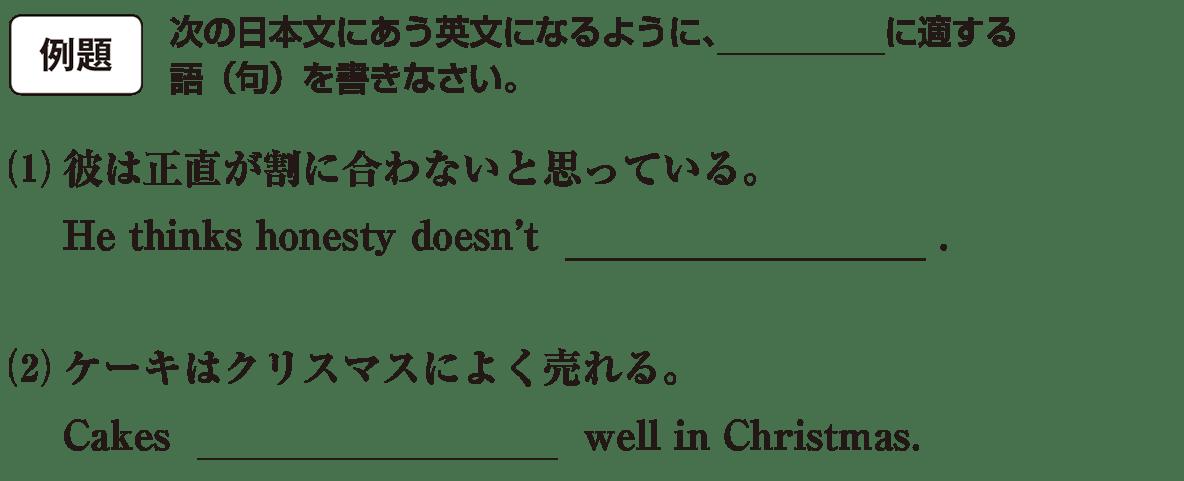 高校英語文法 動詞9・10の例題(1)(2) アイコンあり