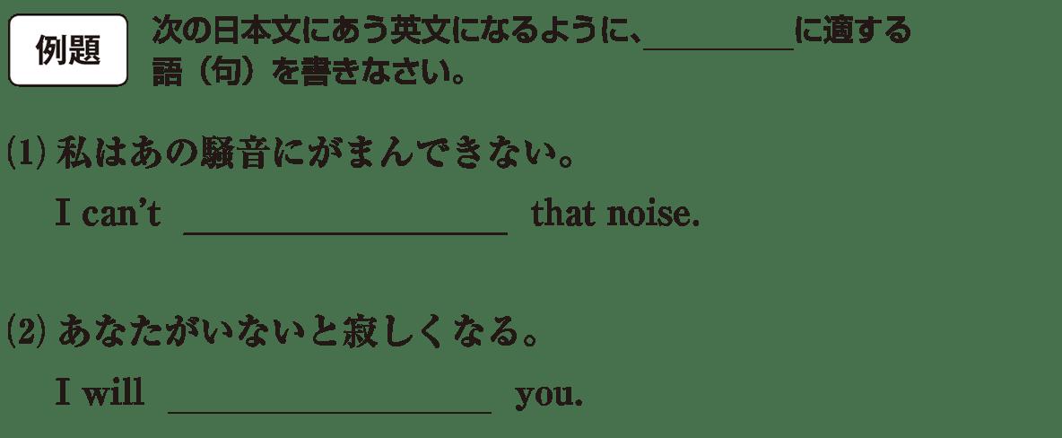 高校英語文法 動詞11・12の例題(1)(2) アイコンあり