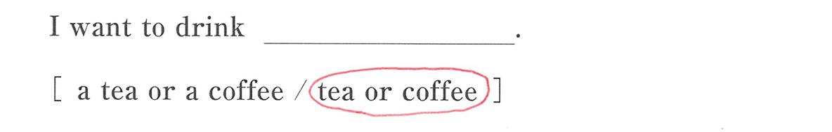 高校英語文法 名詞・冠詞1・2の例題(1) 答え入り アイコンなし