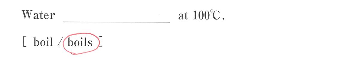 高校英語文法 名詞・冠詞1・2の練習(2)の答え