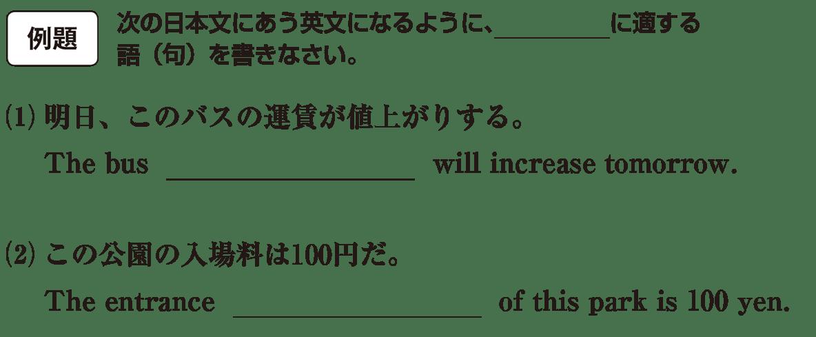 高校英語文法 名詞・冠詞11・12の例題(1)(2) アイコンあり