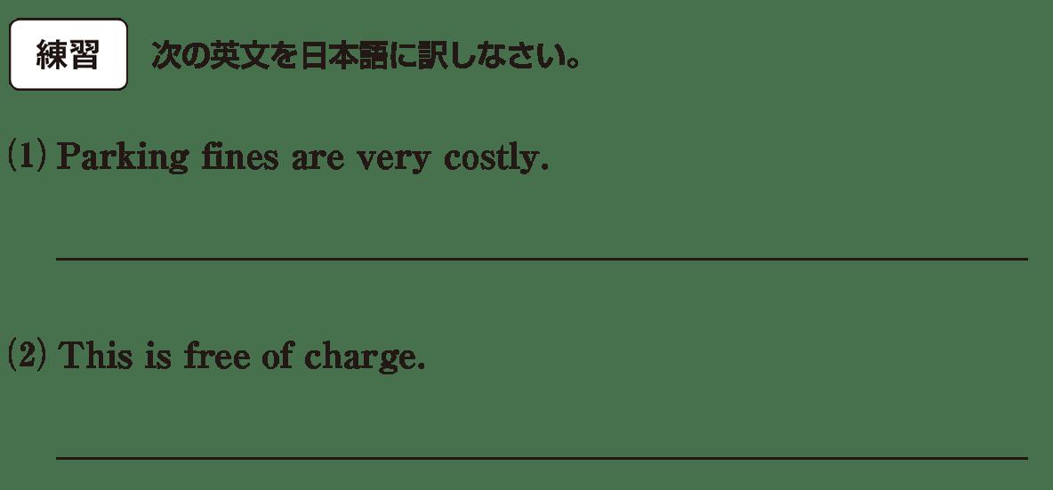 高校英語文法 名詞・冠詞11・12の練習(1)(2) アイコンあり