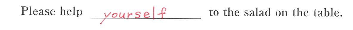 高校英語文法 代名詞29・30の例題(3) 答え入り アイコンなし