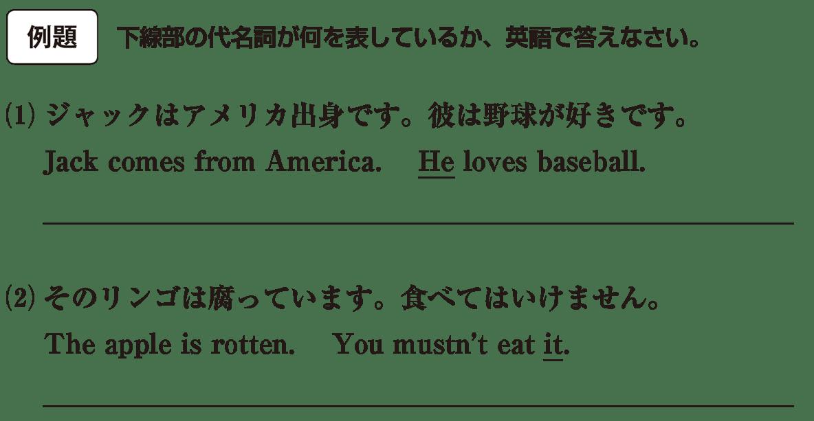 高校英語文法 代名詞1・2の例題(1)(2) アイコンあり