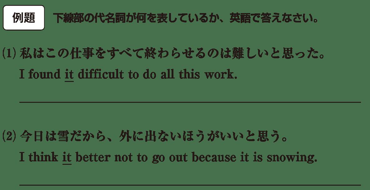 高校英語文法 代名詞13・14の例題(1)(2) アイコンあり