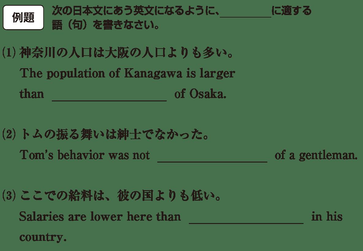 高校英語文法 代名詞15・16の例題(1)(2)(3) アイコンあり