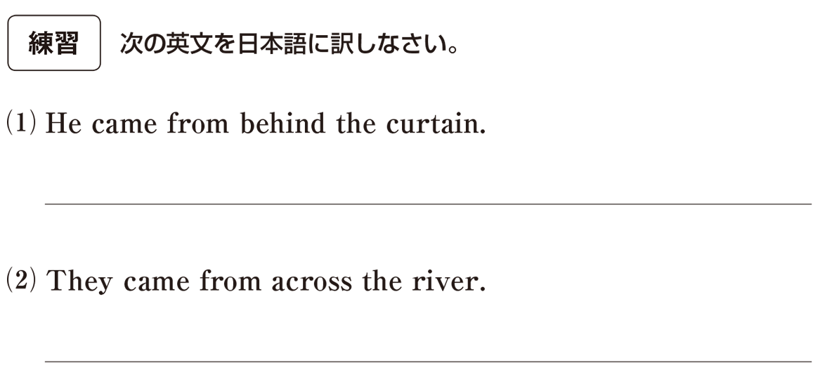 高校英語文法 前置詞23・24の練習(1)(2) アイコンあり